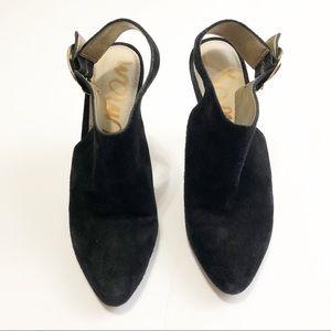 fa667a62831435 Sam Edelman Shoes - Sam Edelman Julian Black Suede Heel